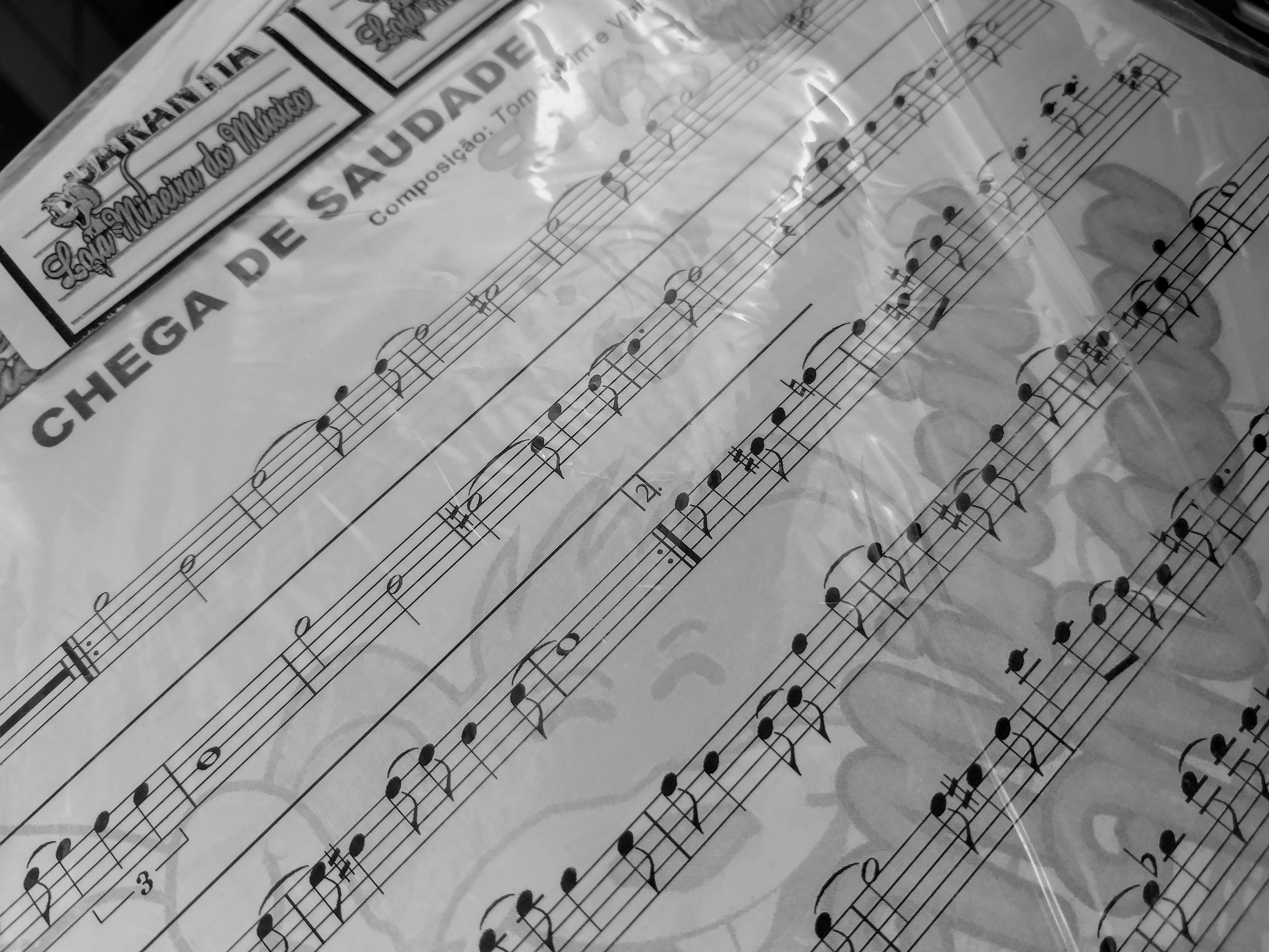partitura de bossa nova para sax tenor soprano trompete clarinete
