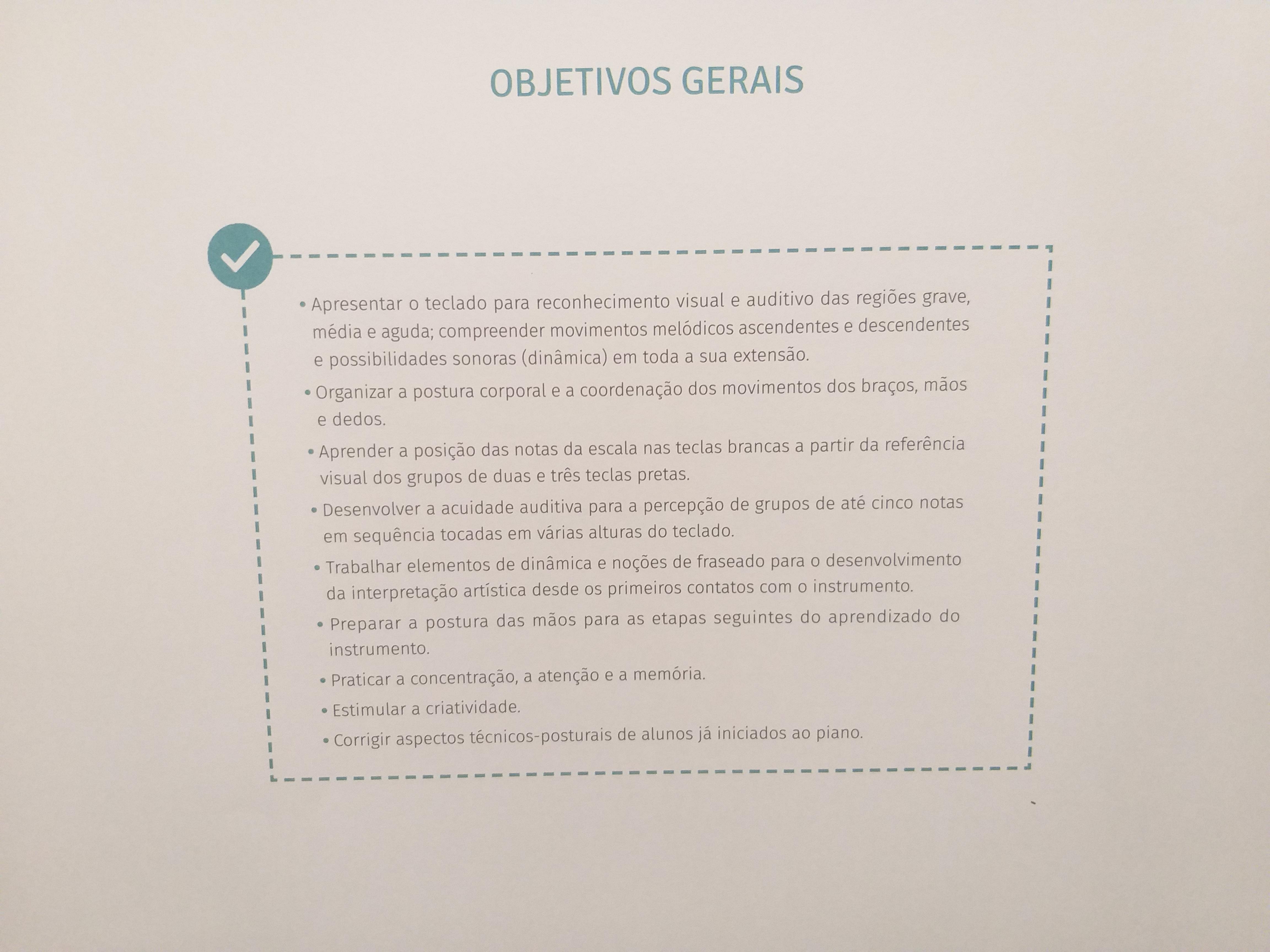 objetivos plano de aula de piano onde comprar o livro amigos do piano na Loja Mineira do Musico (32) 988559211 Luciane Borges
