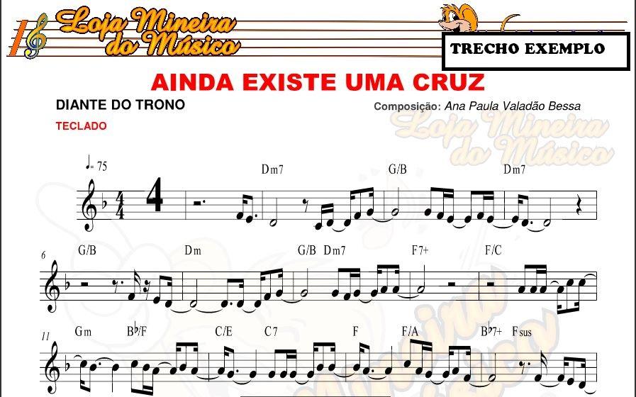Teclado Partituras para Piano - Gospel | O maior acervo de partitura de música gospel.