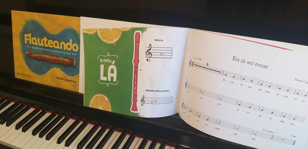 musicalização livro em promoção na loja mineira do musico Metodo De Flauta Doce Para Iniciantes
