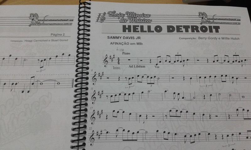 caderno partitura pdf livro de partituras impressas grafica em Loja Mineira do Musico