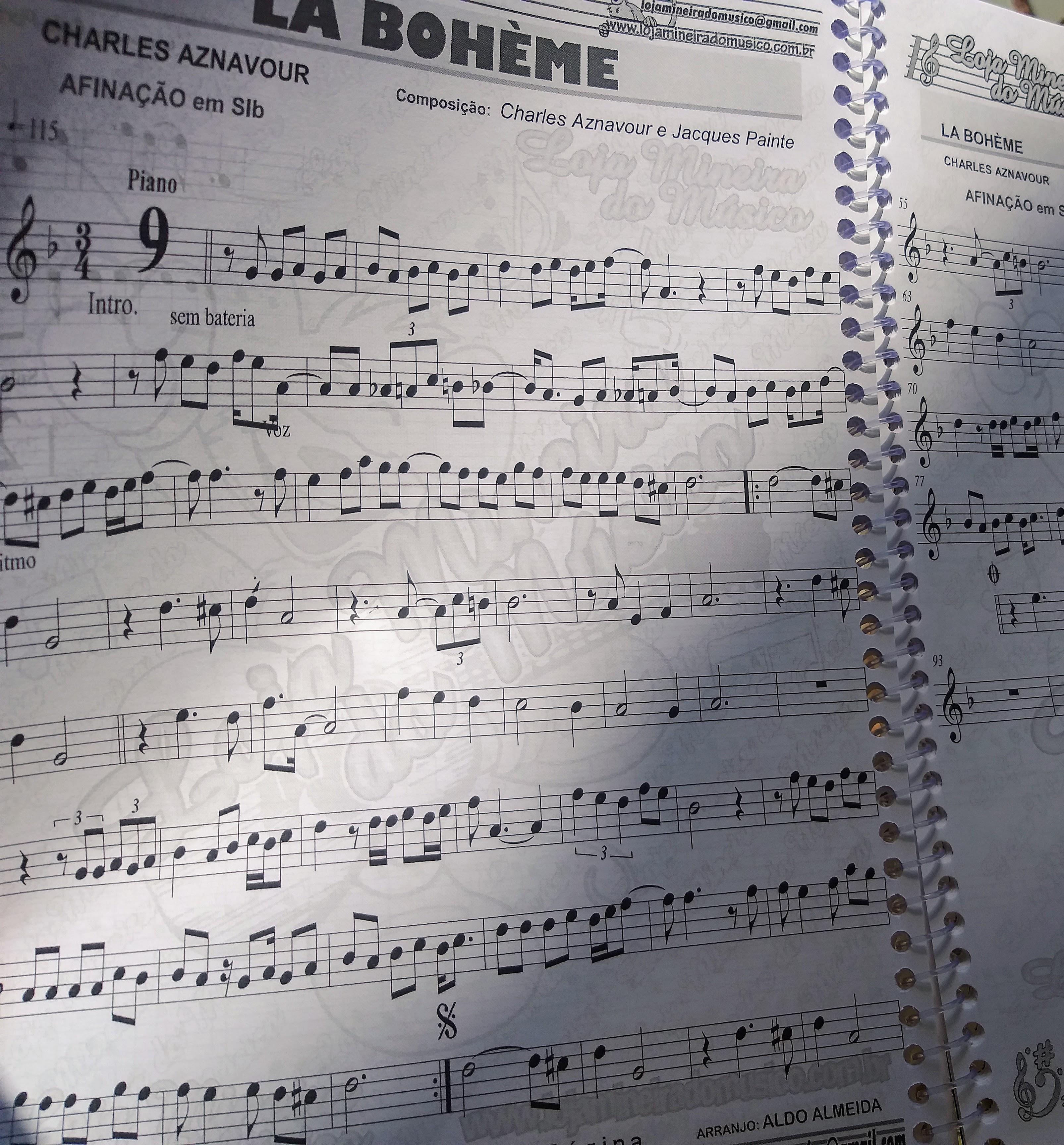 Como encontrar qualquer música na partitura @LojaMineiradoMusico Internacional Partitura