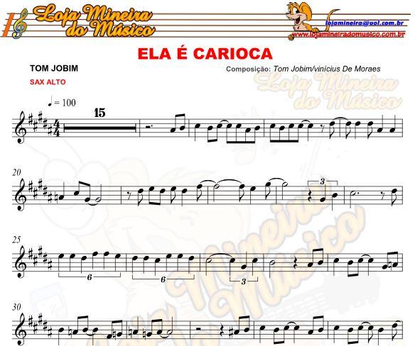 Uma apostila de partituras para Sax Alto feita de Musicas Brasileiras, contém cinquenta partituras de samba para saxofone alto em PDF, partituras digitais