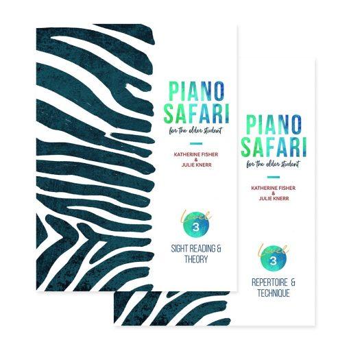 PIANO SAFARI OLDER STUDENT NIVEL 3 LOJA MINEIRA DO MUSICO BRASIL