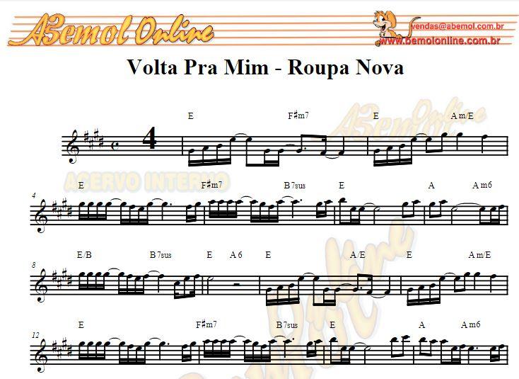 Partituras de músicas para Saxofone Internacionais para Sax Soprano