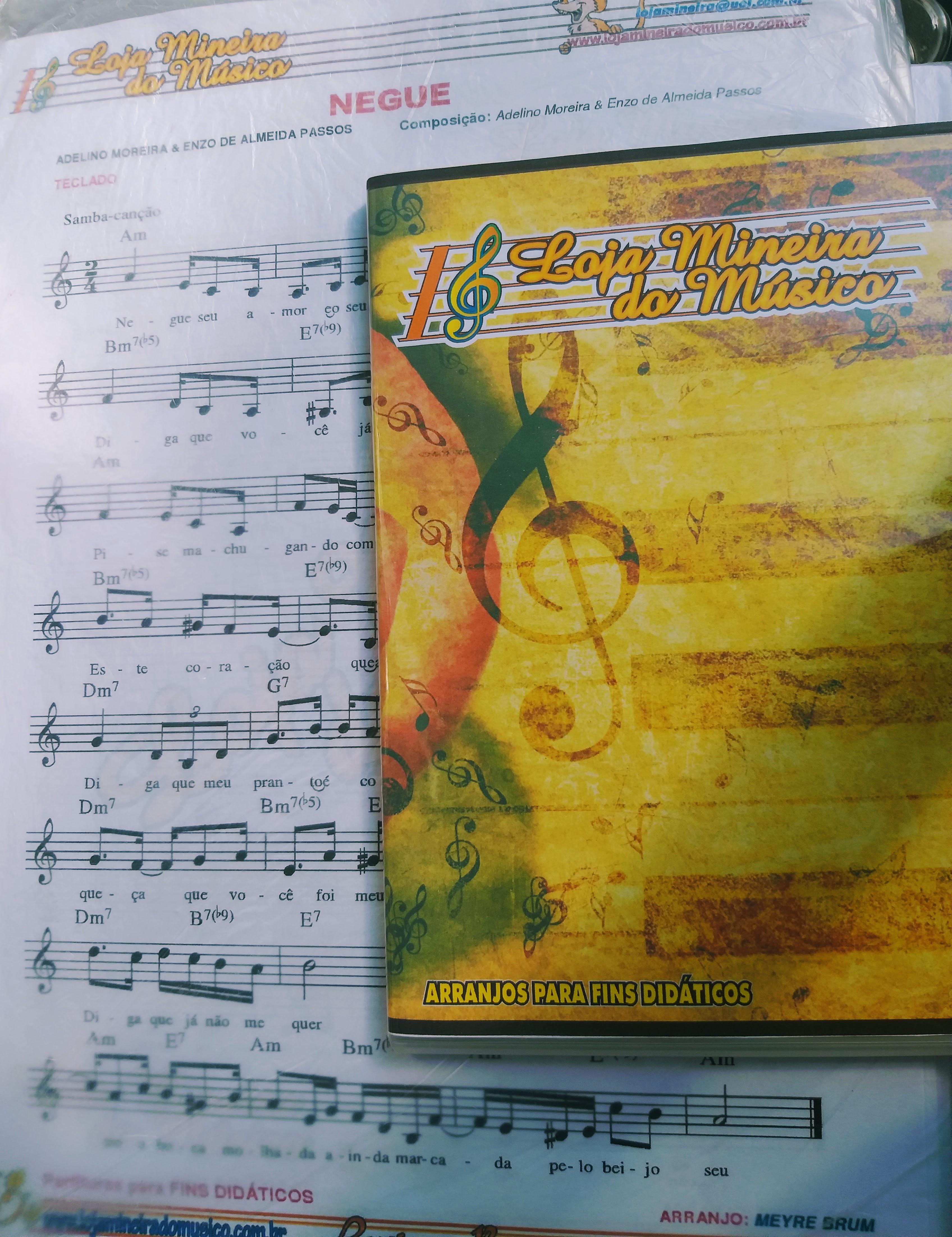 Ritmo de Samba Partitura em PDF Loja Mineira do Musico