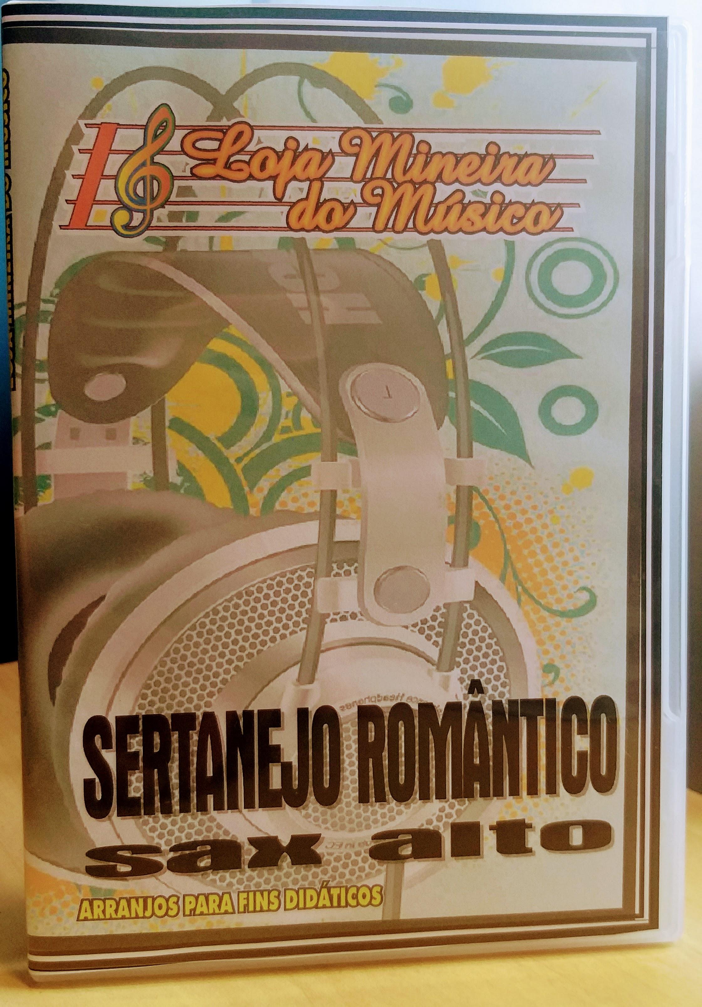 Partituras para Sax Alto Sertanejo Romantico em PDF Sax Alto