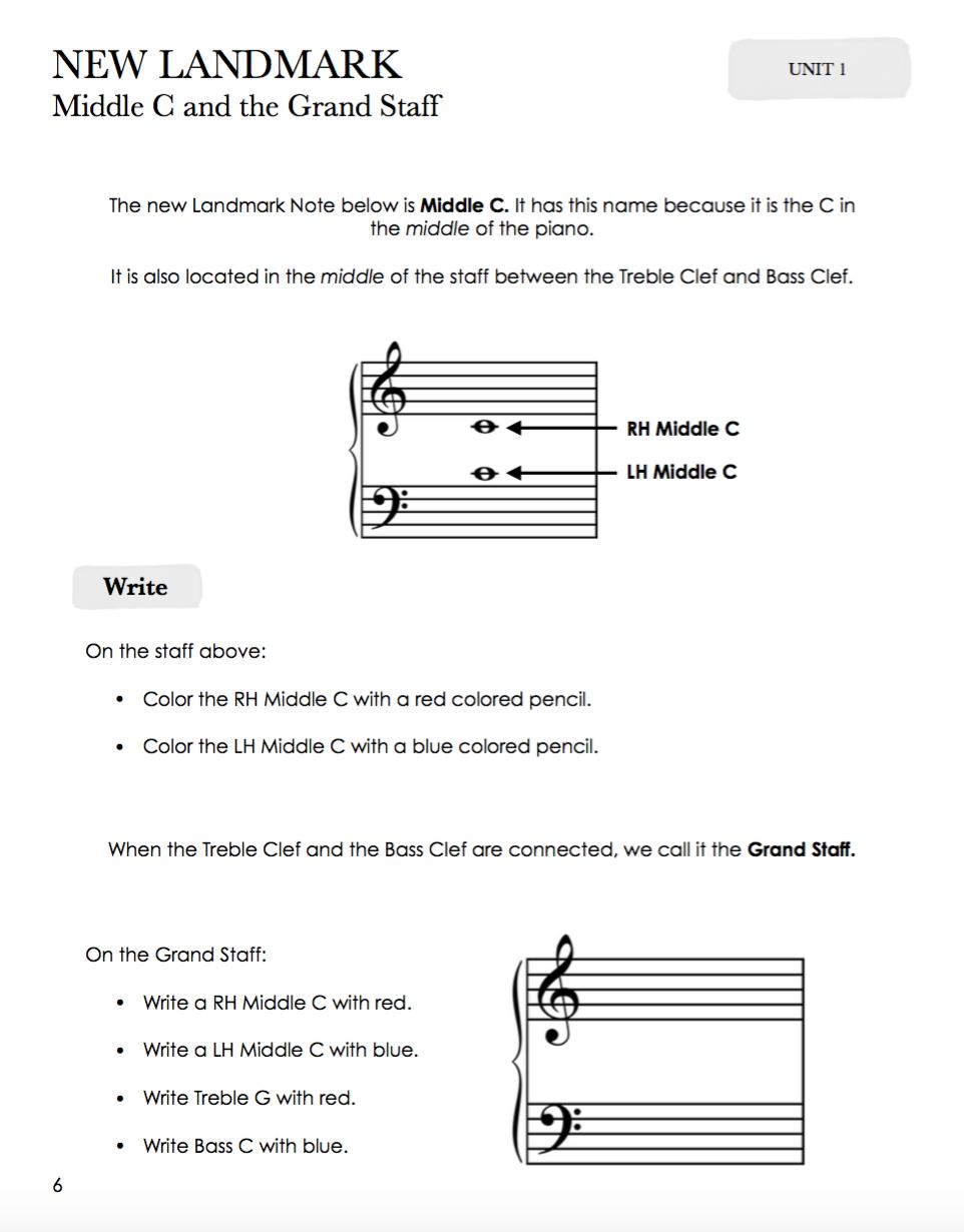 TEORIA 2   theorybook2/  O Livro de Teoria 2 do Piano Safari se correlaciona com os outros componentes do Nível 2 para fornecer reforço adicional para cada unidade.  Conceitos incluídos no Livro de Teoria 2:  Contagem métrica e valores rítmicos Grande Equipe e identificação de nota Acidentes Intervalos de 2ª, 3ª, 4ª e 5ª. Informações sobre o produto: 64 páginas.  Os alunos aprendem novos conceitos por meio do trabalho no Repertório 2, no Livro de técnicas 2 e nas Cartas de leitura à vista, analisando e reproduzindo peças e exercícios. No Livro de Teoria 2, modos adicionais de aprendizagem são utilizados, que incluem:  Copiando Analisando Escrita Ouvindo Composição Essas formas variadas de abordar cada conceito garantem que os alunos entendam os fundamentos da notação musical por completo. O Livro de Teoria 2 é adequado tanto para uso na aula quanto como lição de casa para aulas particulares e aulas em grupo.