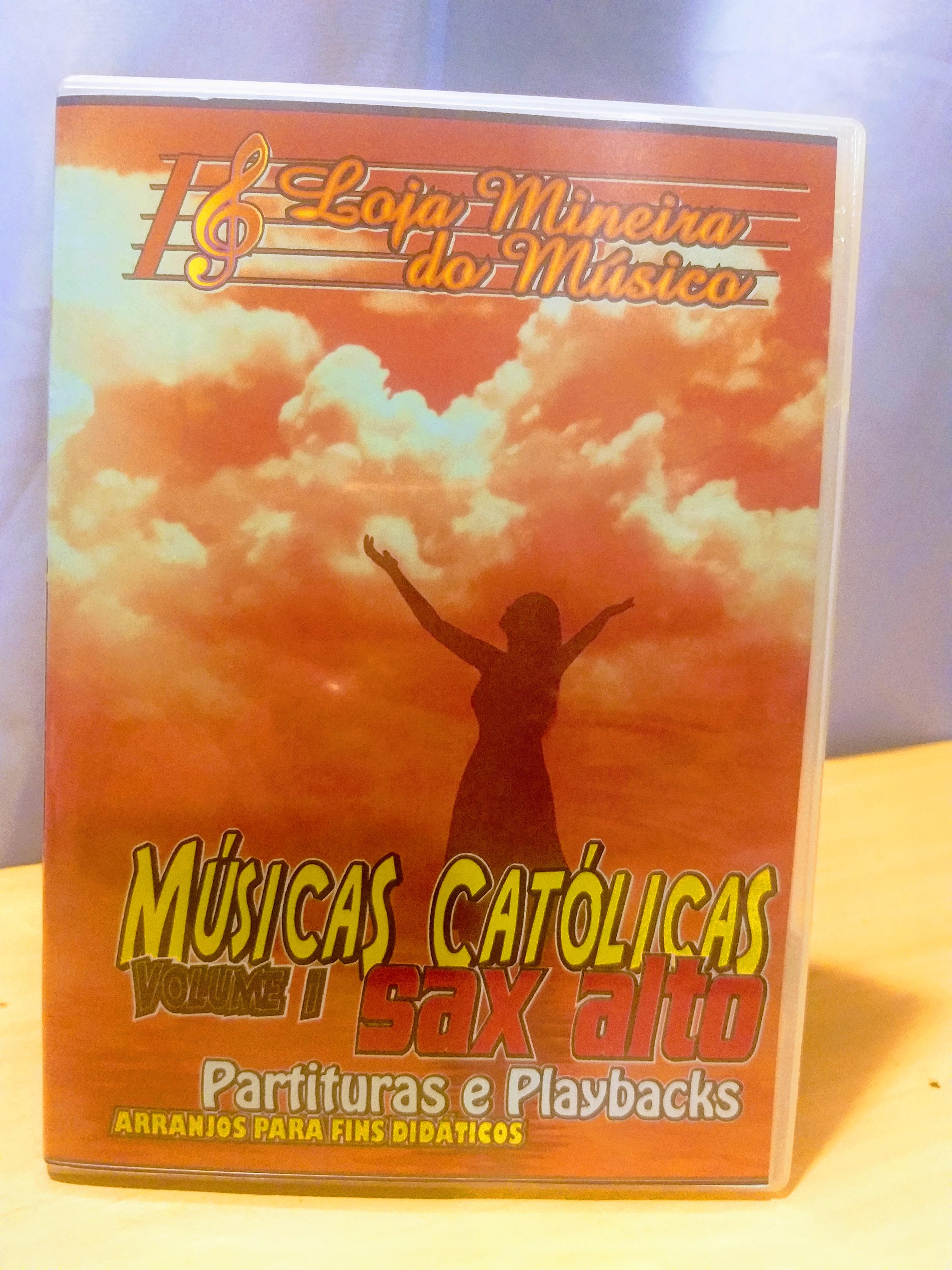 Sax Alto Partituras Católicas atuais e acompanhadas de Áudios MP3 de Estúdio.