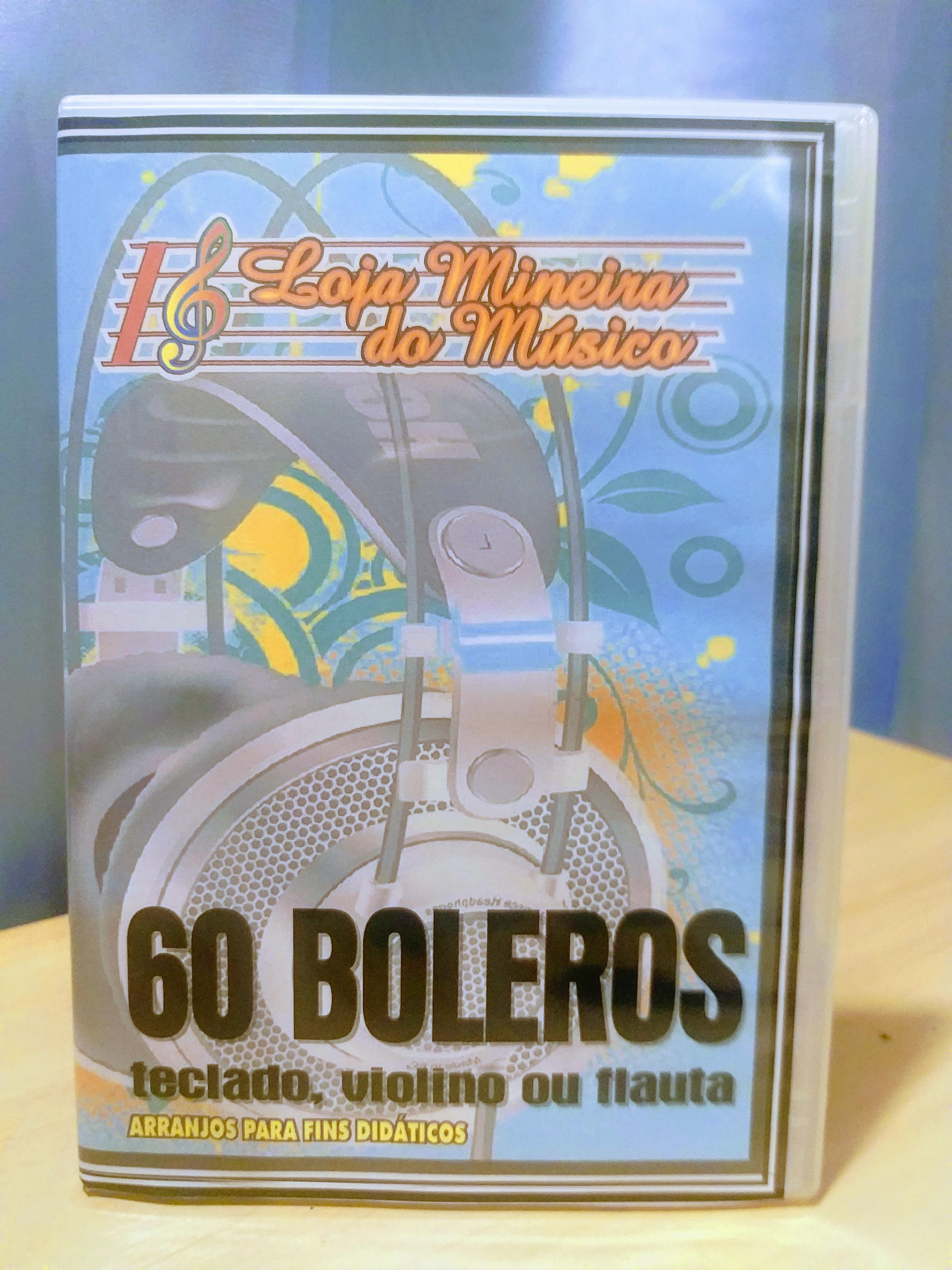 Sessenta músicas famosas de Boleros em Partituras para Teclado Fáceis de Tocar  Top Boleros, swing, big band, fox-trot, samba-canção.