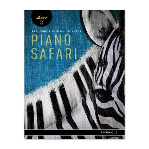 PIANO SAFARI Technique BOOK 3, LIVRO DE TECNICA DE PIANO 3 PIANO SAFARI LOJA MINEIRA DO MUSICO,