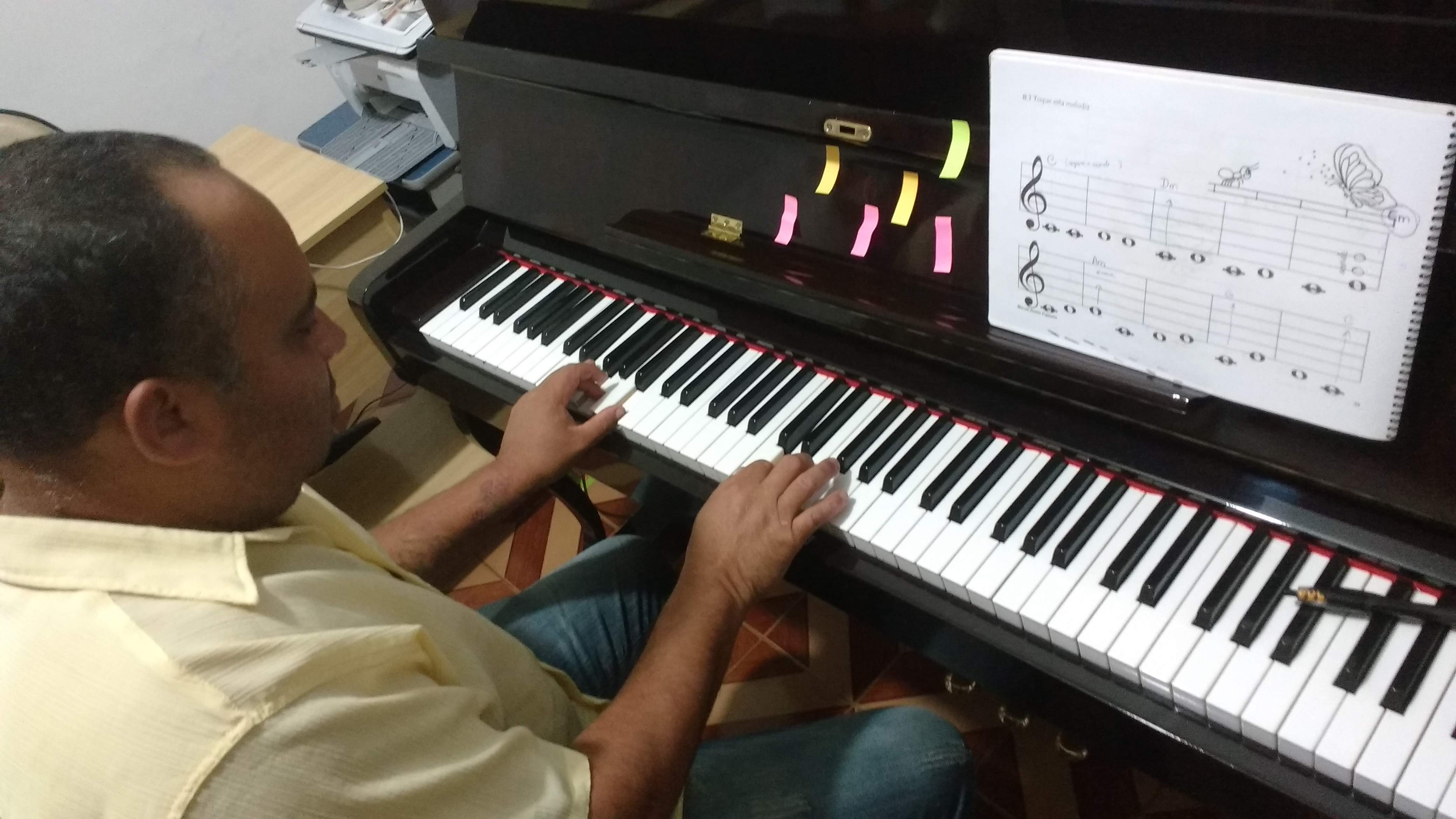 aprenda teclado do zero em jf professora luciane