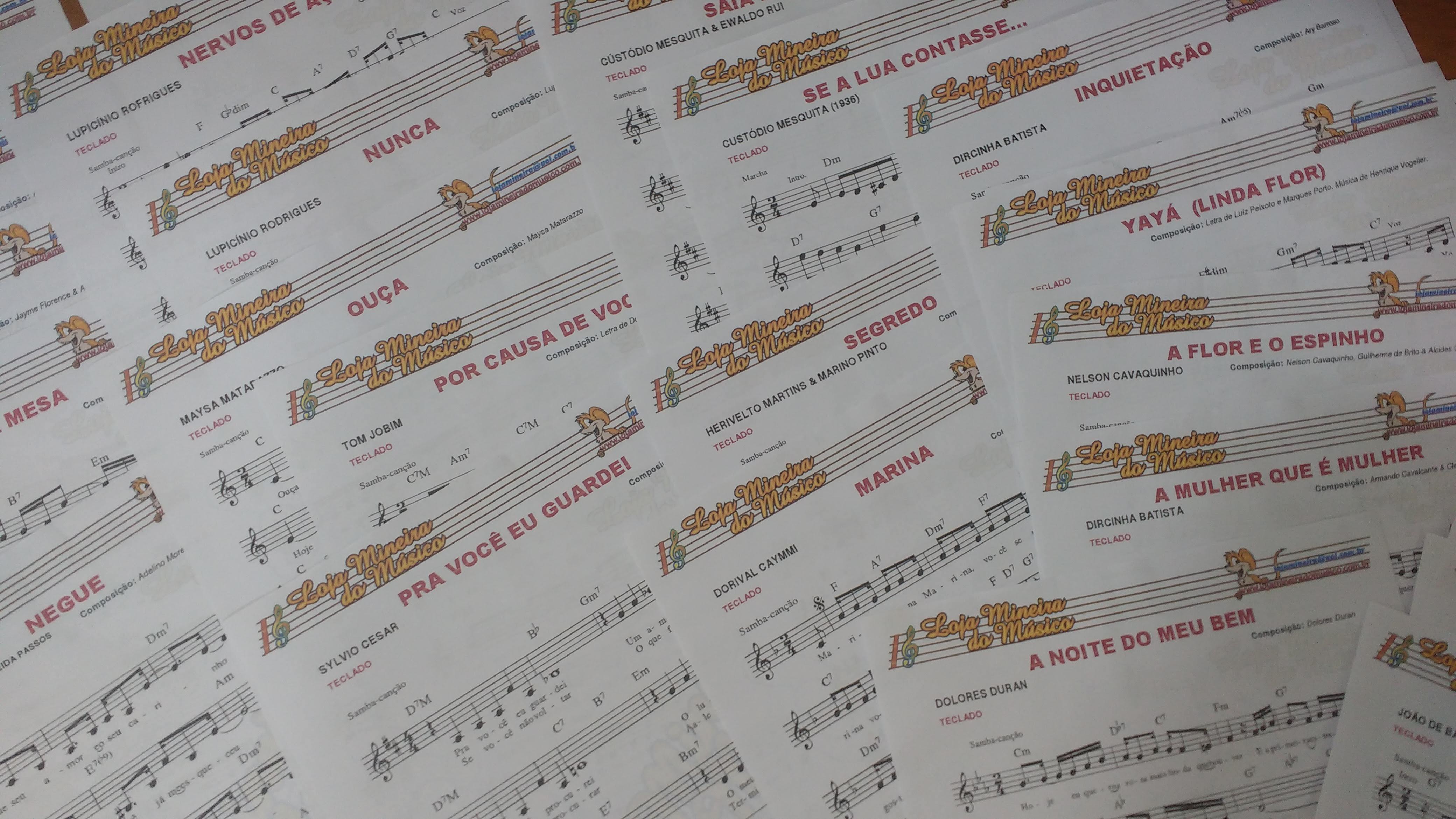 #partiturasmusicais #comprarpartitura Loja Mineira do Musico