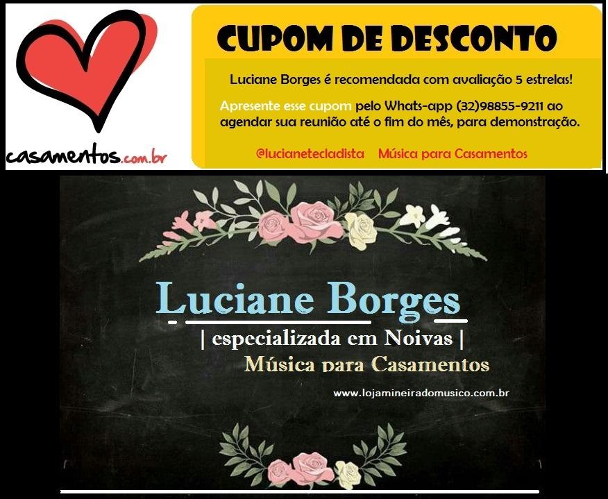 preço musica para casamento em promoção na Luciane Borges Tecladista Juiz de Fora MG
