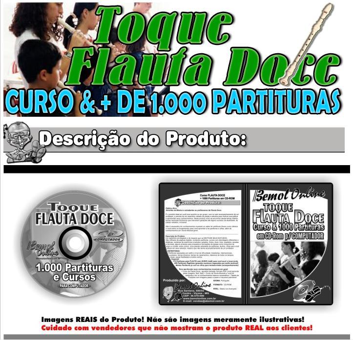 partituras para flauta. Toque Flauta Doce ( 1000