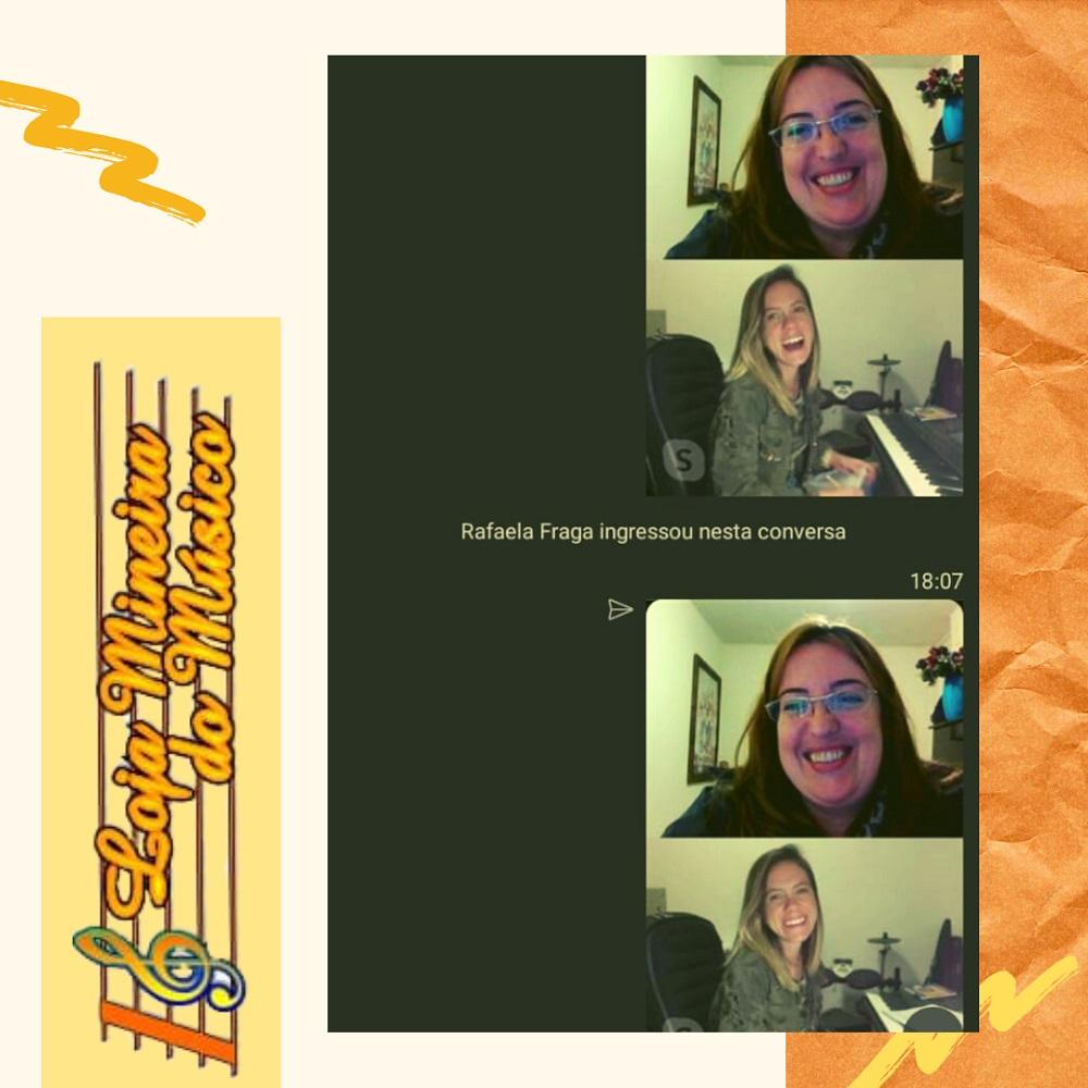 hobby aprender a tocar teclado e cantar luciane borges professora julia professora de canto