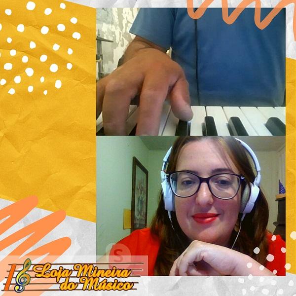quero aprender a tocar teclado online professora luciane borges