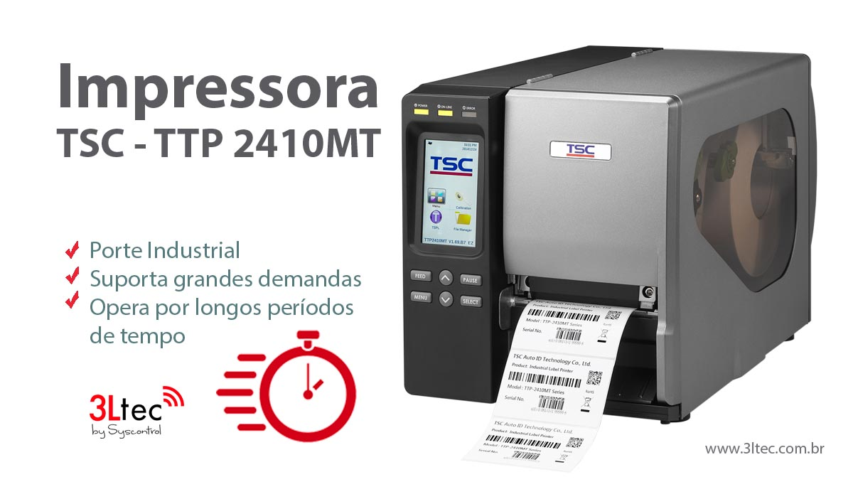 Impressora de Etiquetas 2410MT
