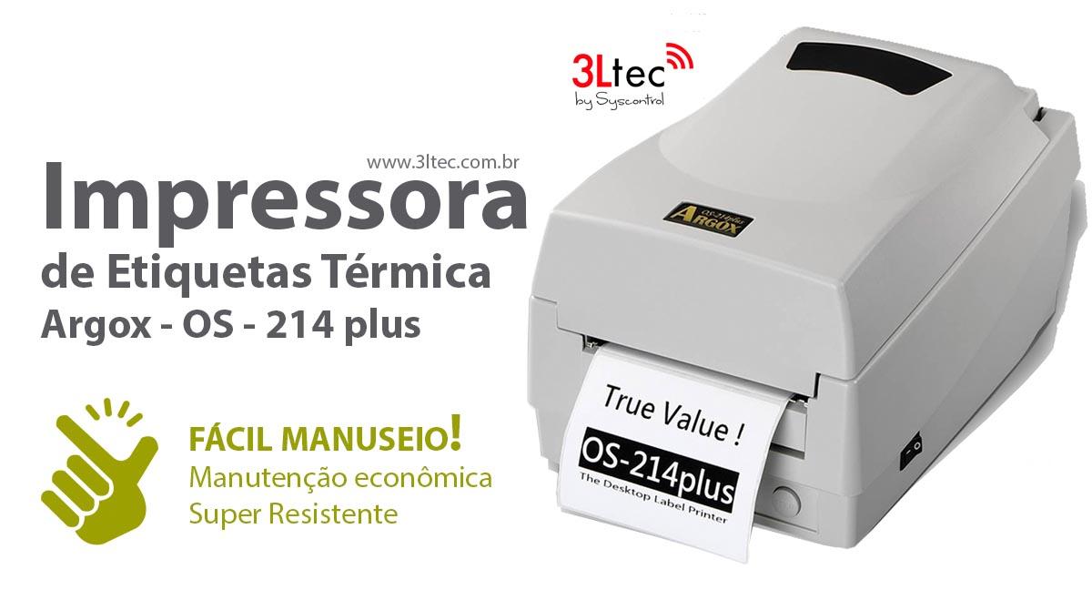 Impressora de Etiquetas OS214
