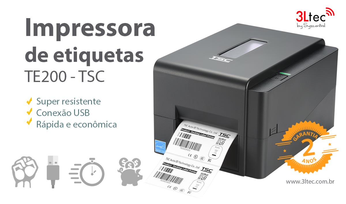 Impressora de Etiquetas TE200