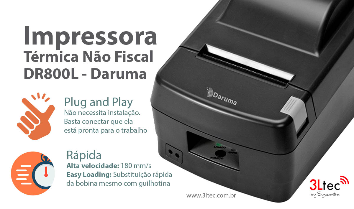 Impressora Termica DR800L