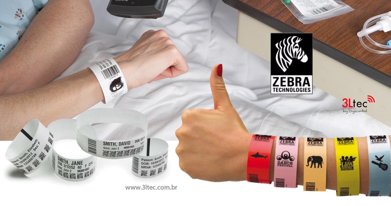 Impressora de Pulseiras HC 100 Zebra