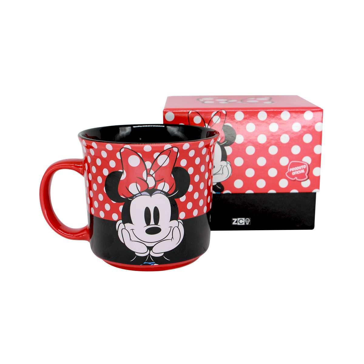 Caneca Minnie Poa Mickey Mouse Disney