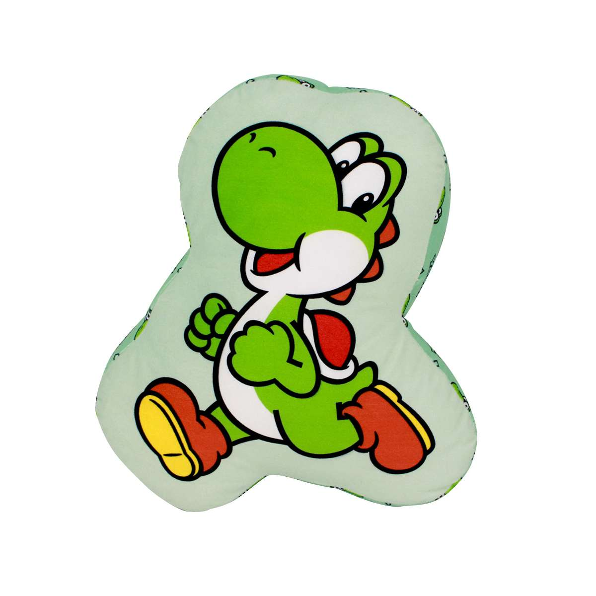 Almofada Decorativa Yoshi Super Mario Bros Nintendo