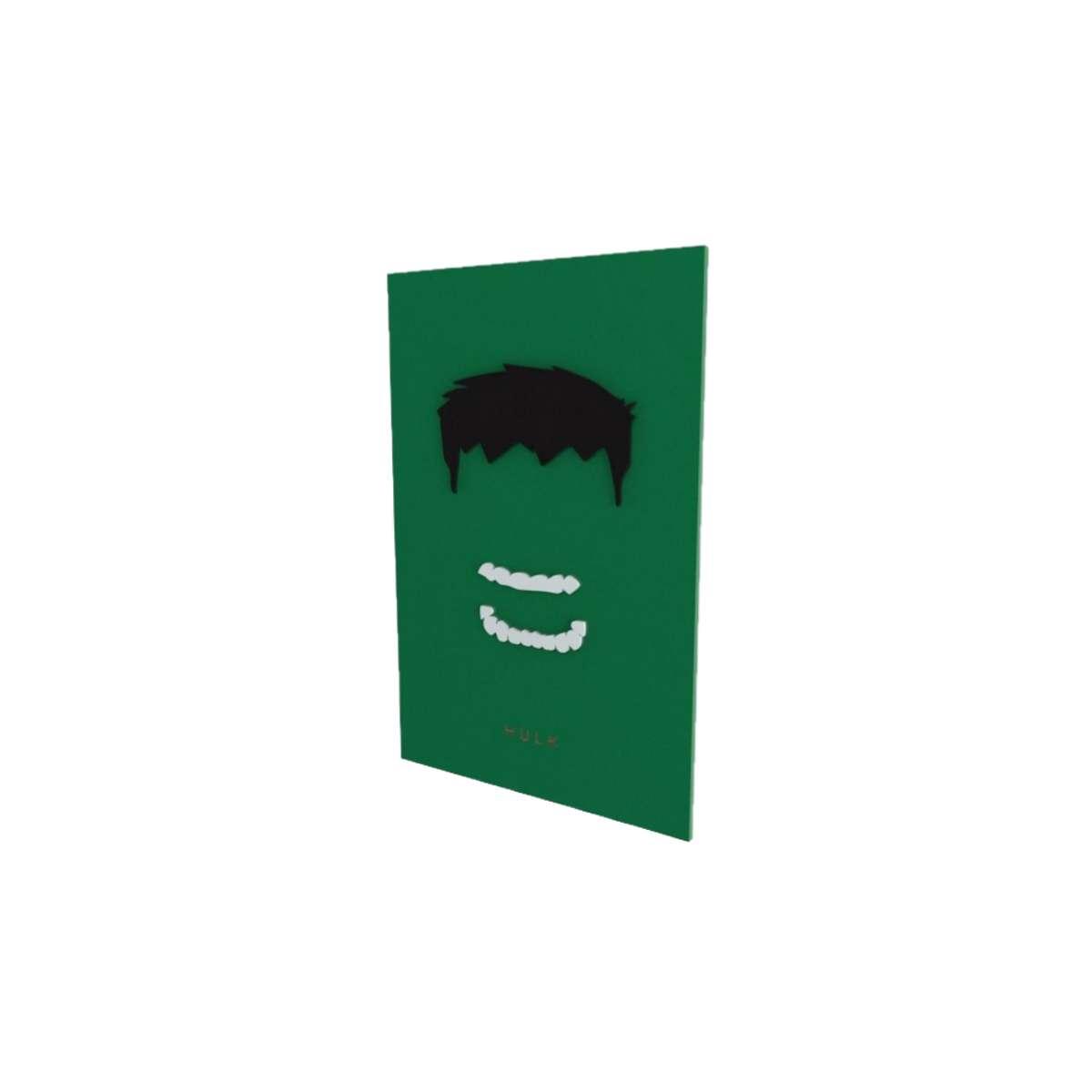 Quadro Decorativo Hulk