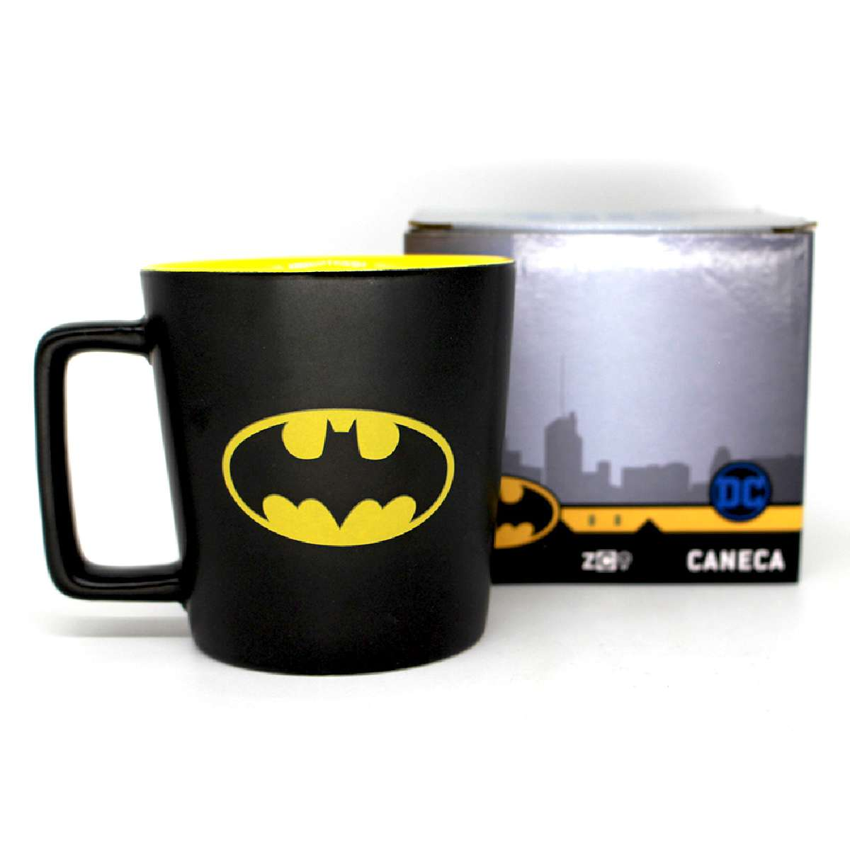 Caneca Batman Cavaleiro das Trevas Logo Morcego