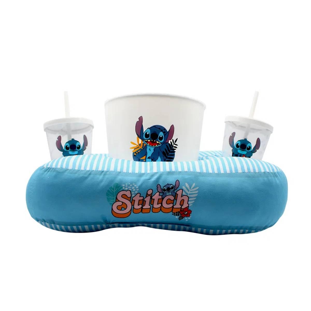 Kit Almofada Porta Pipoca Stitch Disney