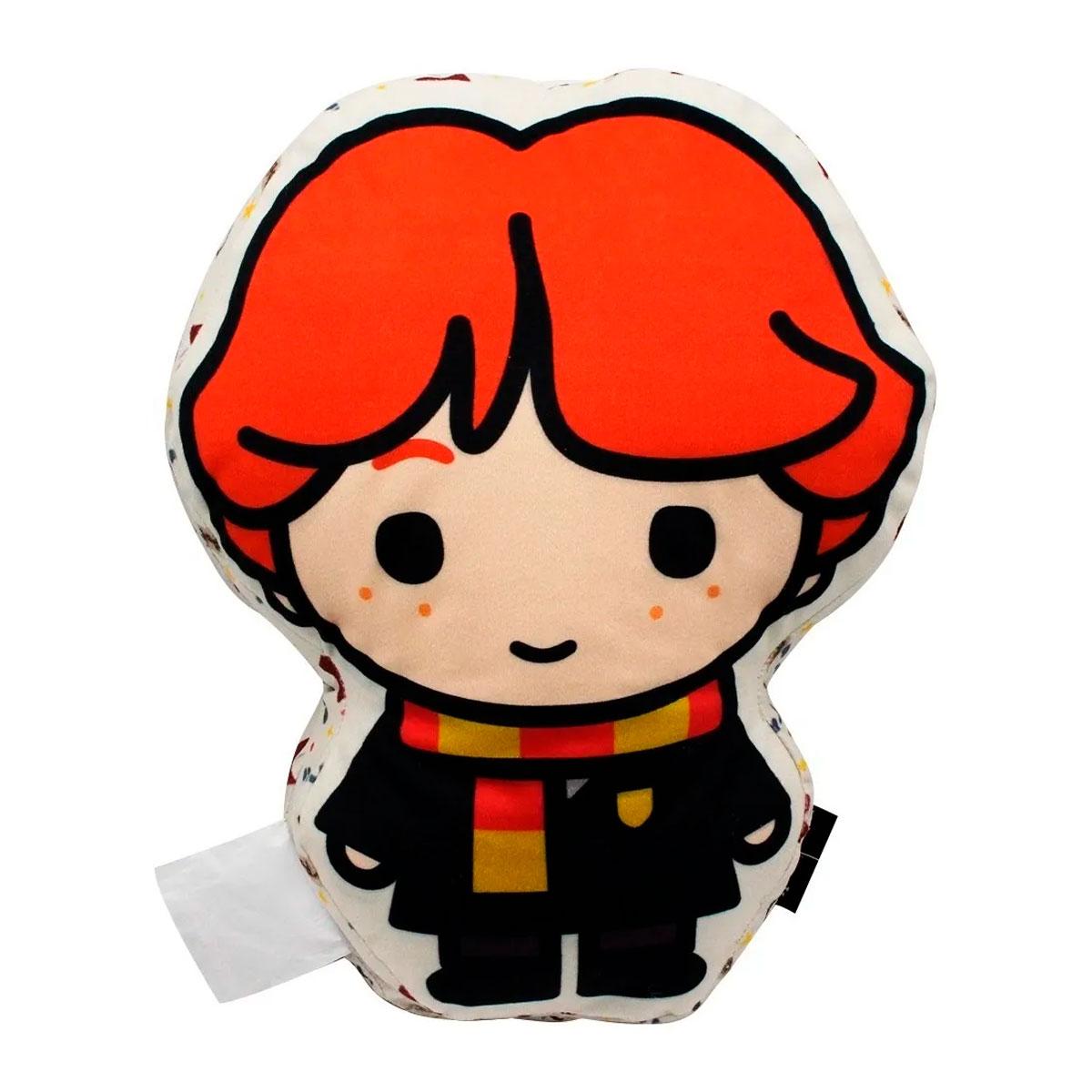 Almofada Decorativa Formato Ron Weasley Harry Potter - Presente Super
