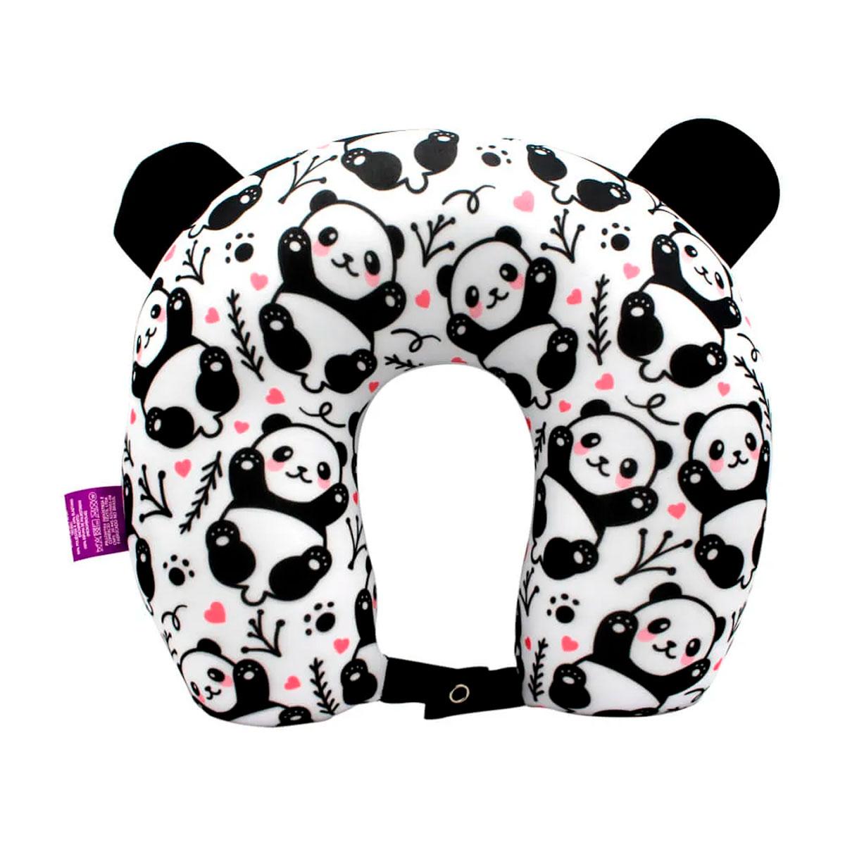 Almofada de Pescoço Panda - Presente Super
