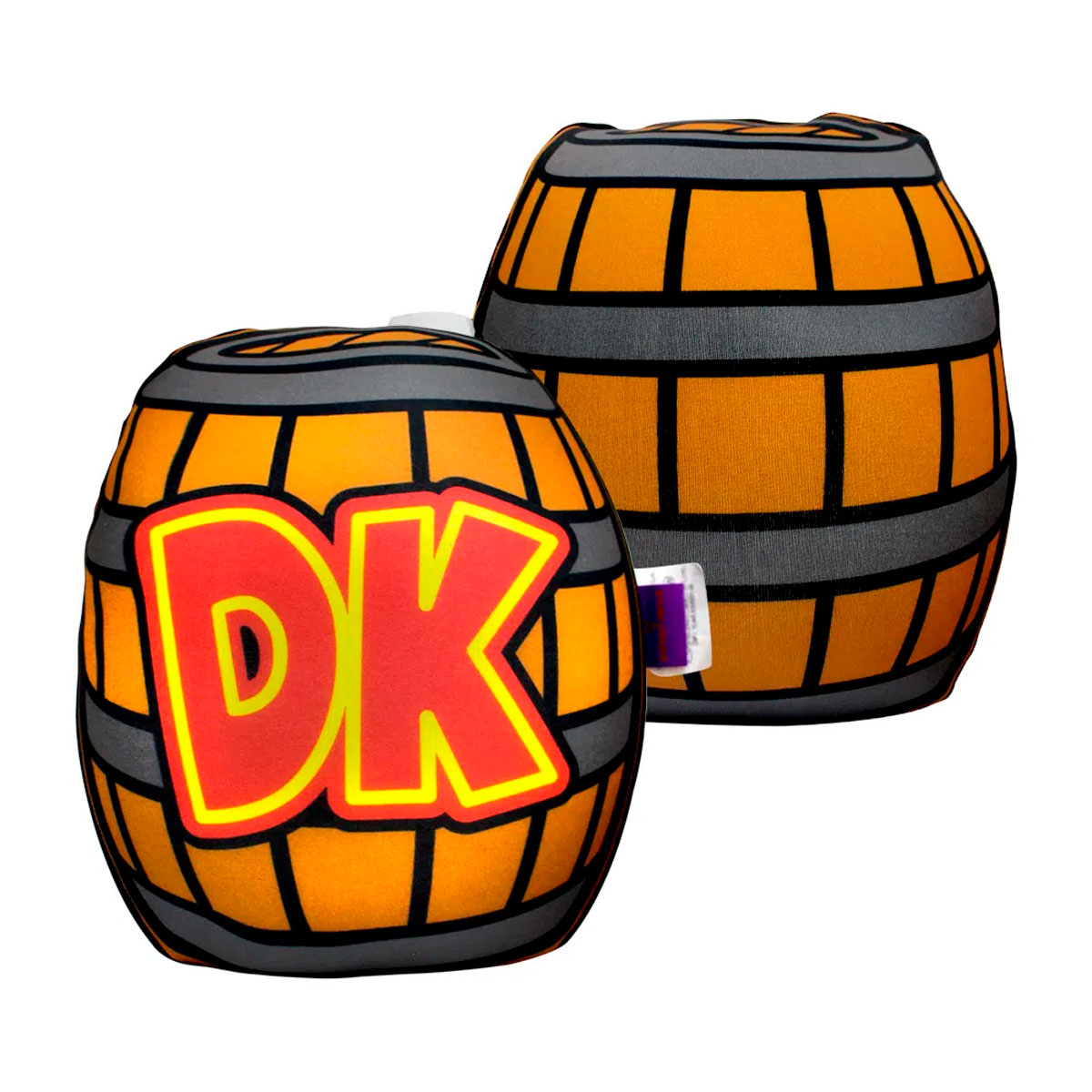 Almofada Formato Barril Donkey Kong - Presente Super