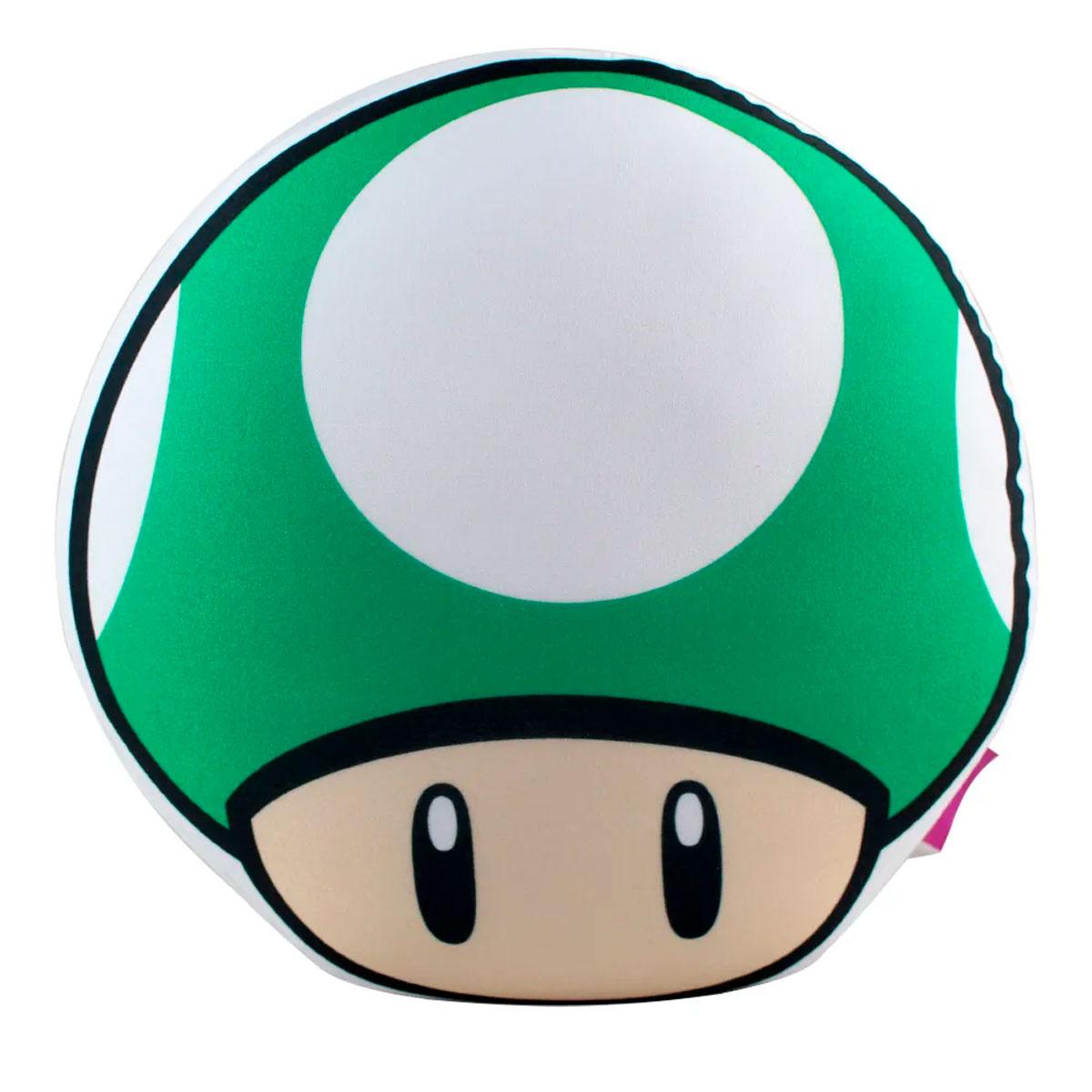 Almofada Formato Cogumelo Vida Super Mario - Presente Super