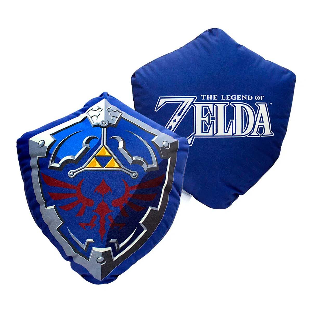 Almofada Formato Escudo Zelda - Presente Super