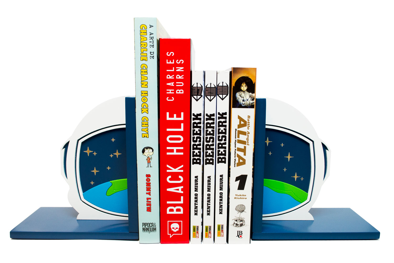 Aparador de Livros Astronauta Planeta Terra - Presente Super