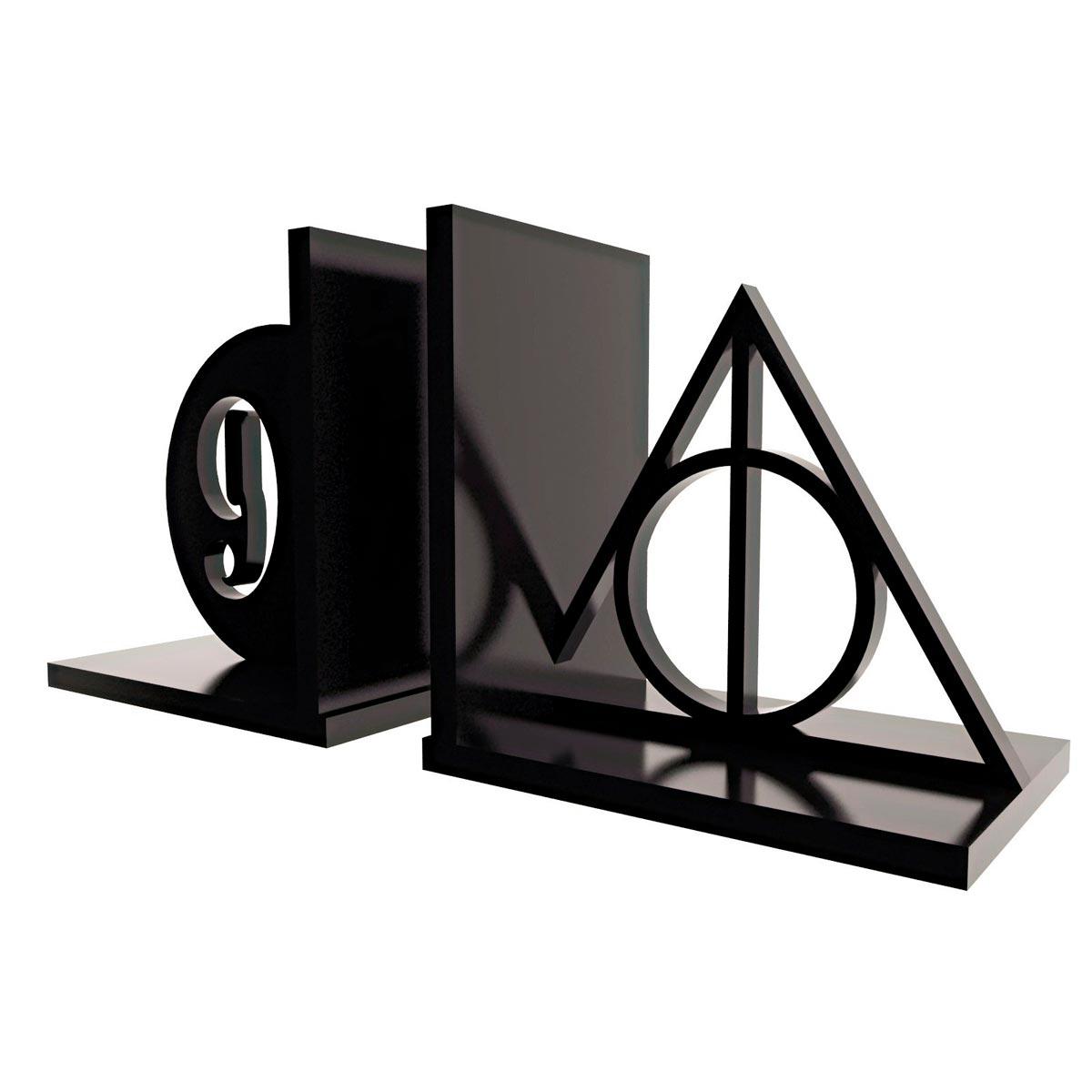 Aparador de Livros Harry Potter Relíquias da Morte - Presente Super
