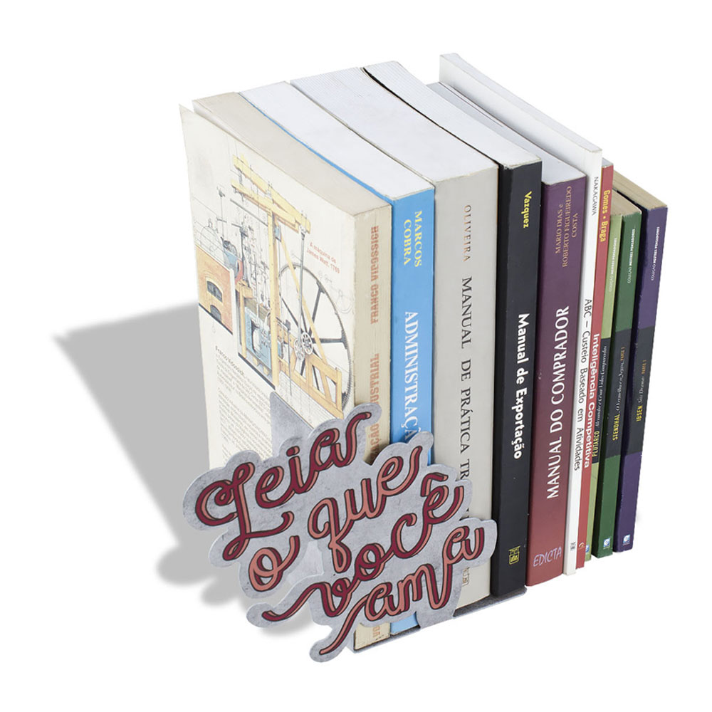 Aparador de Livros Leia o Que Você Ama