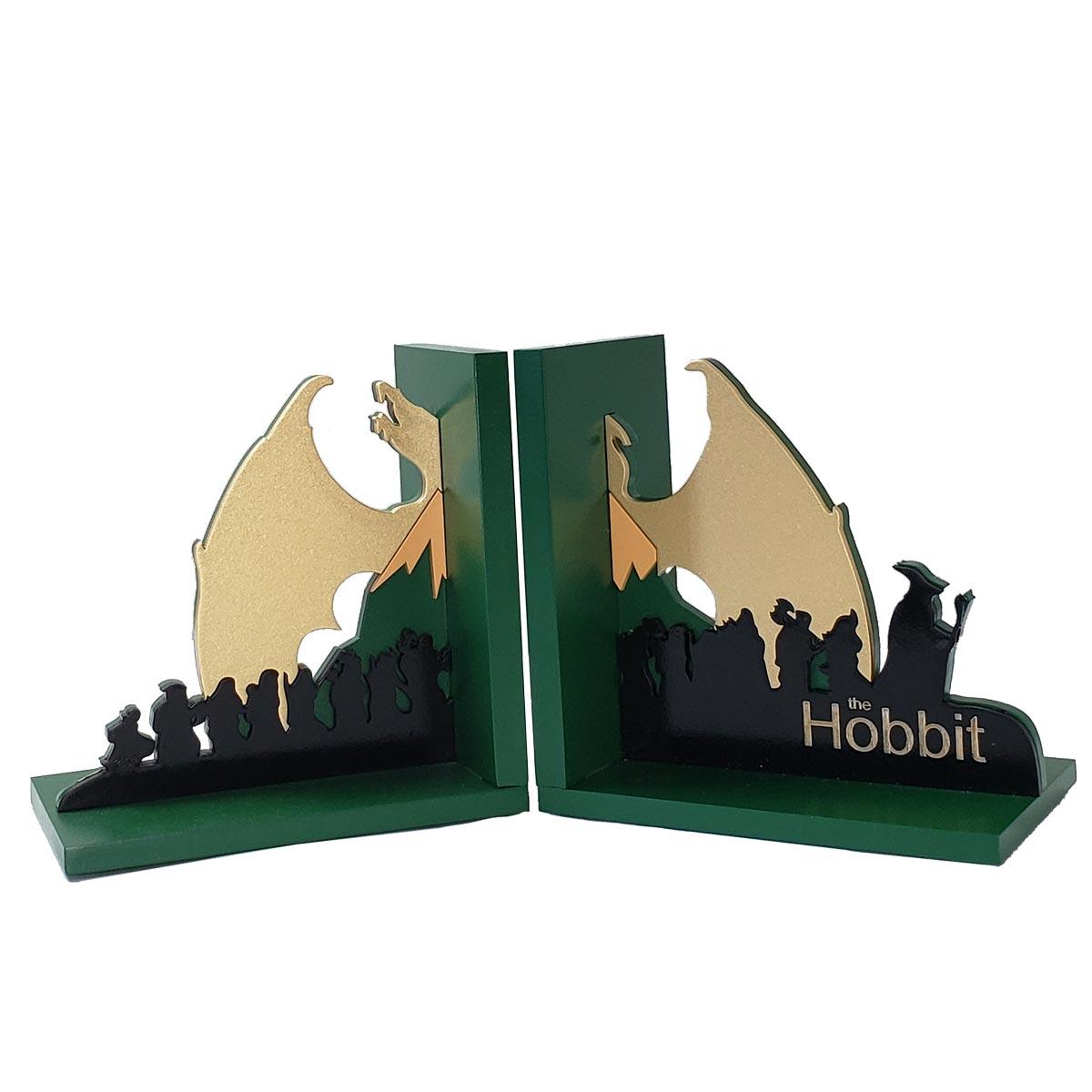 Aparador de Livros O Hobbit Anões e Dragão