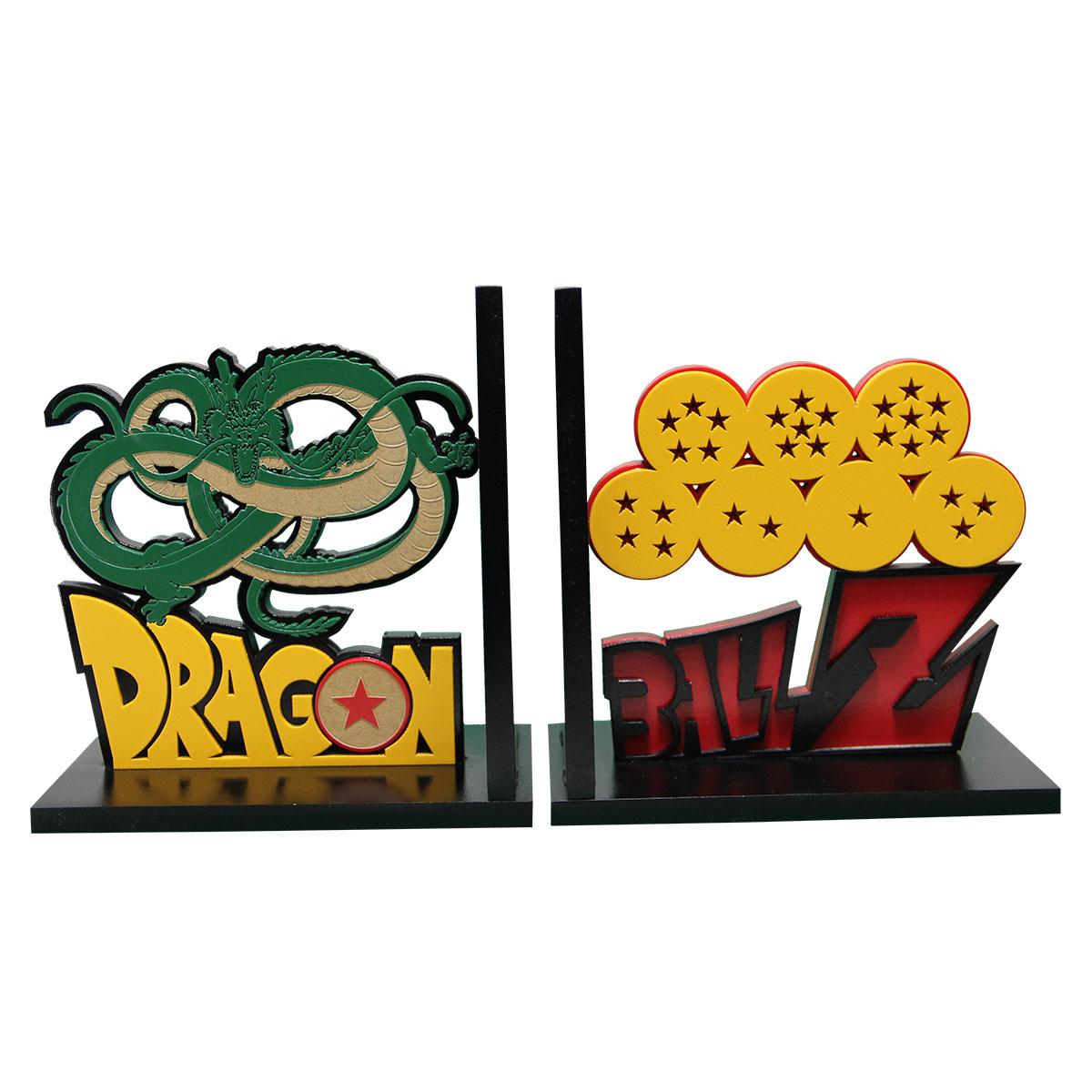 Aparador de Livros Dragon Ball Z Shenlong e Esferas do Dragão