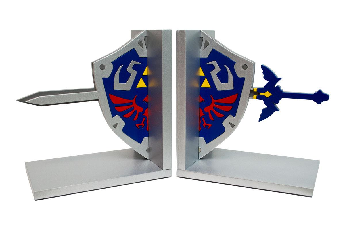 Aparador de Livros e Jogos Zelda Escudo Link