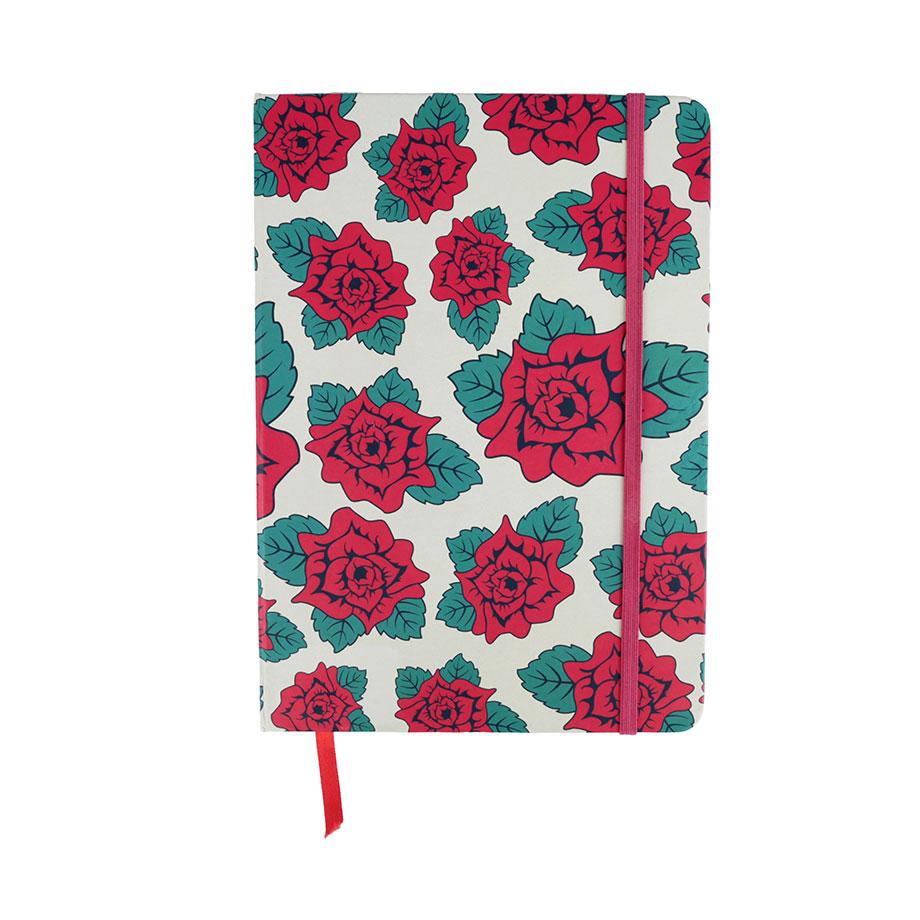 Caderneta de Anotação Frida Kahlo - Beautiful Flowers