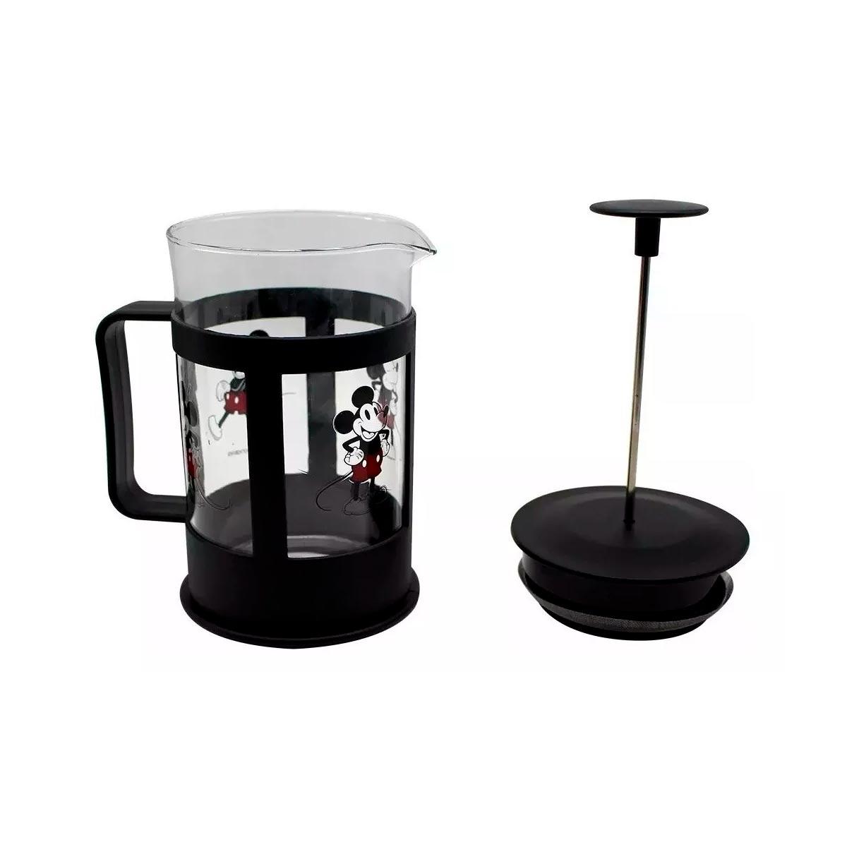 Cafeteira Francesa Mickey 600 ml - Presente Super
