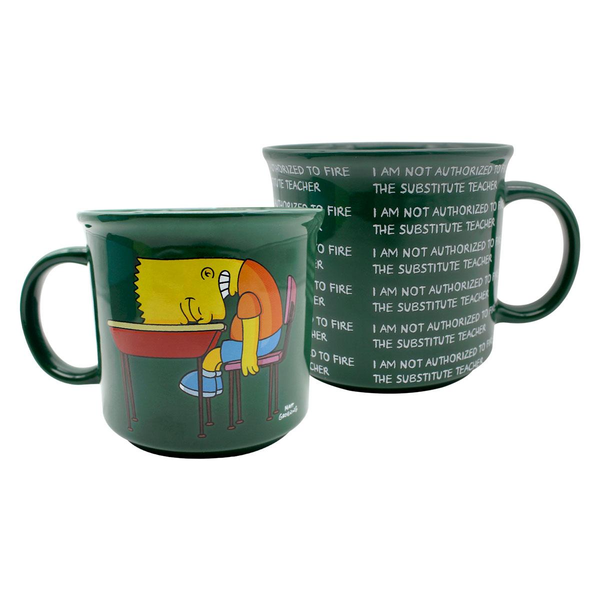 Caneca Bart Lousa Os Simpsons 350 ml - Presente Super