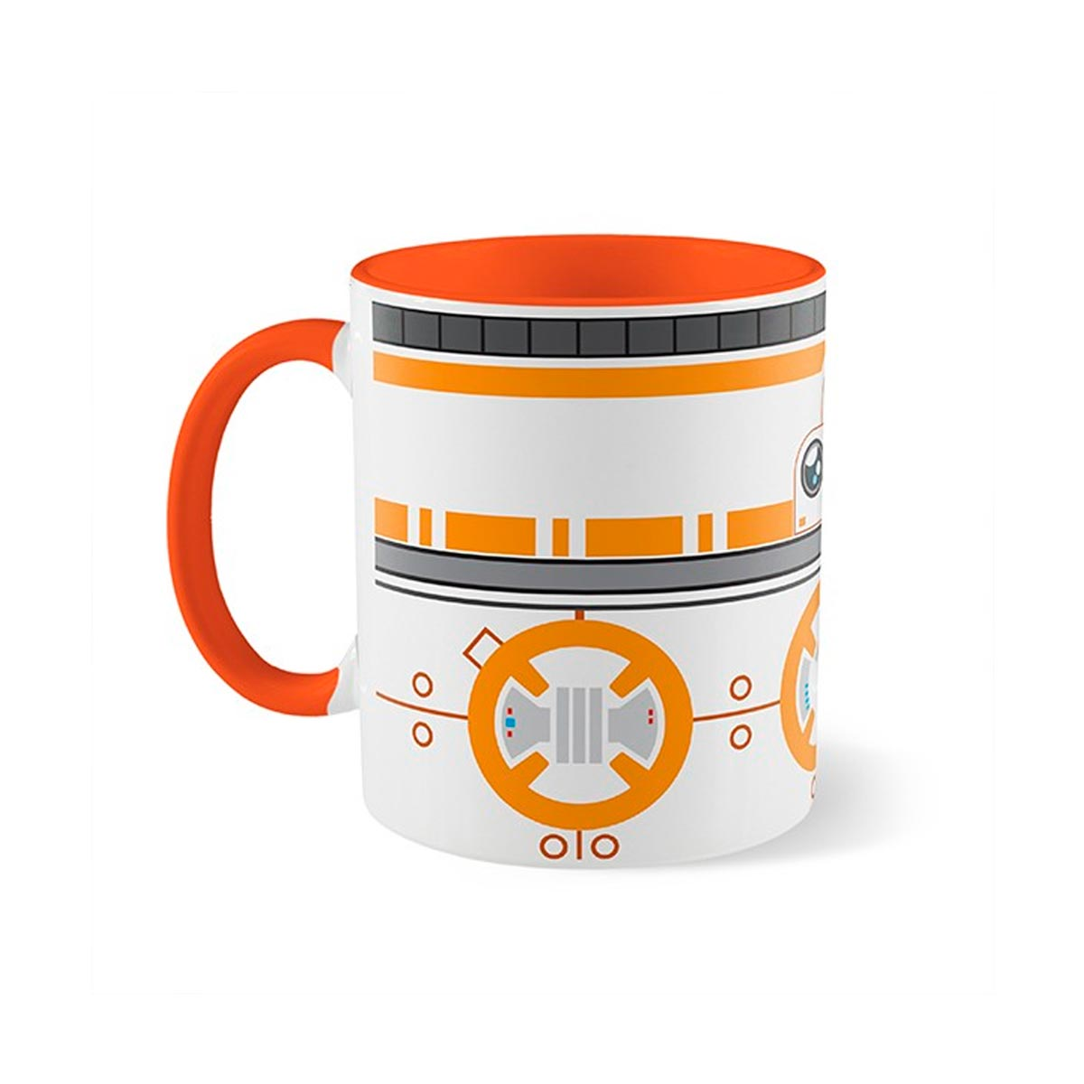 Caneca Droide BB8 Star Wars - Presente Super