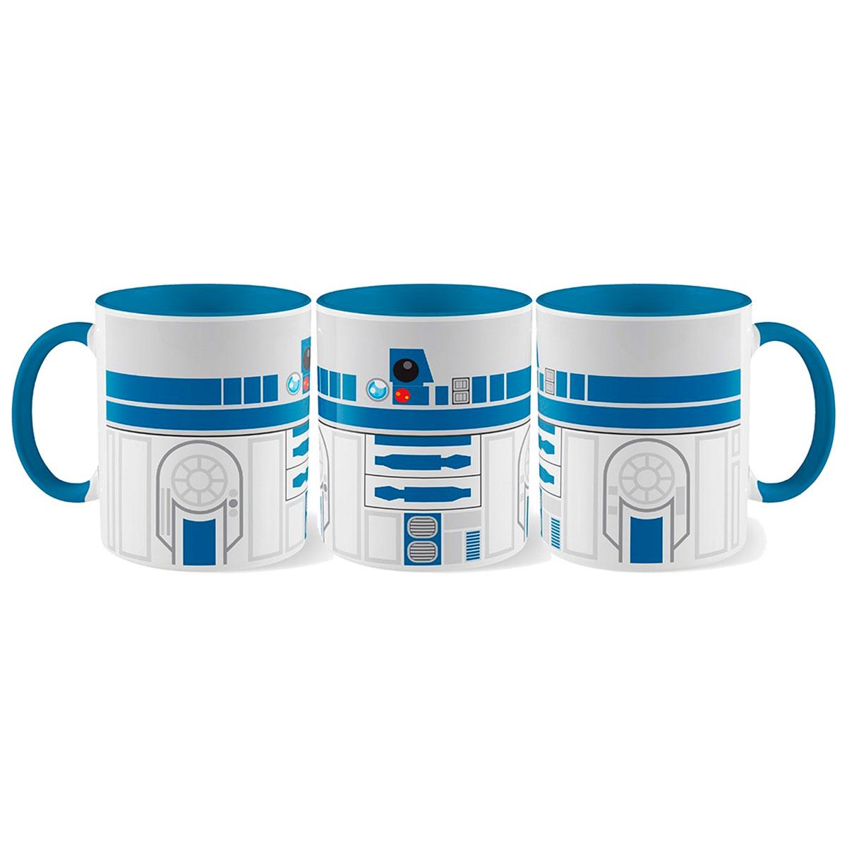 Caneca Droide R2D2 Star Wars - Presente Super