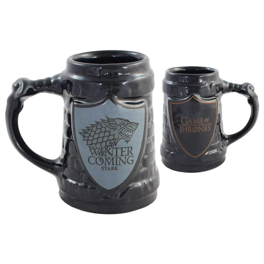 Caneca Game Of Thrones - Escudo Stark