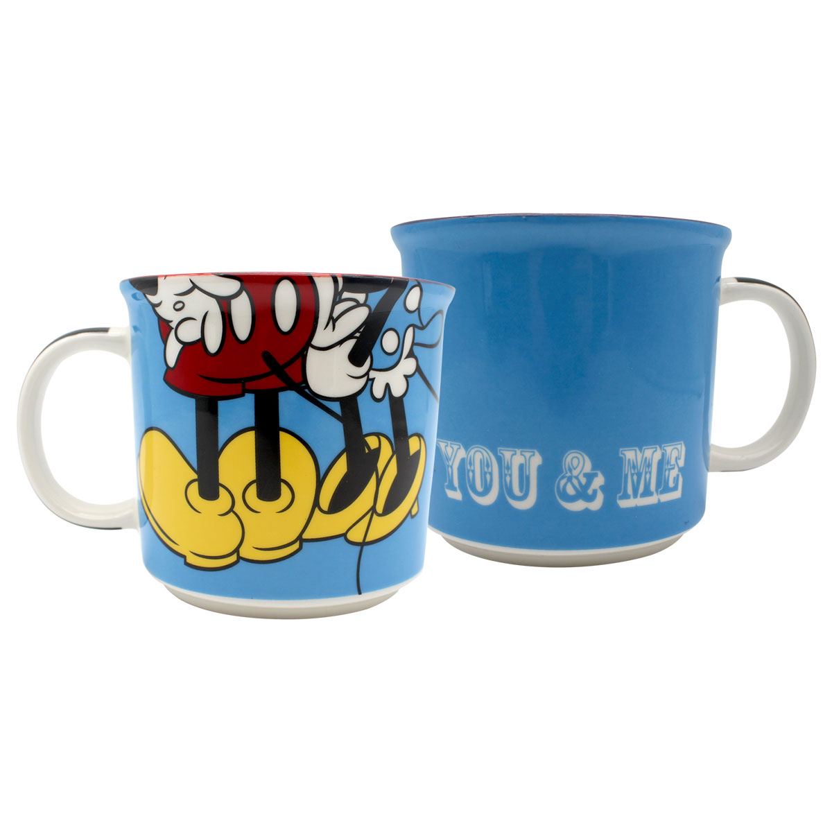 Caneca Mickey e Minnie You and Me 350 ml - Presente Super