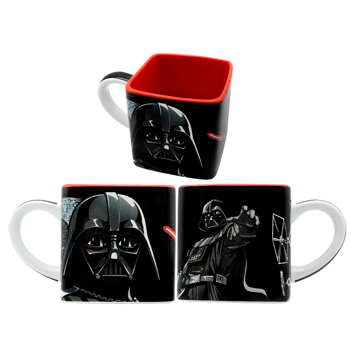 Caneca Quadrada Cubo Darth Vader Star Wars - Presente Super